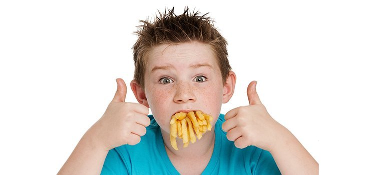 unhealthy kid