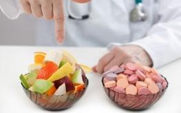 doctor prescribes fruit