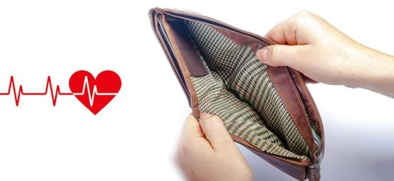 Study: Losing Money While Young can Lead to Heart Disease Later