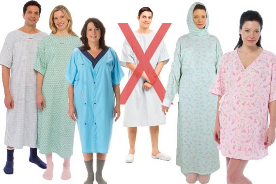 Even hospitals gown contain PFAS