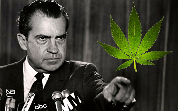 Thank President Nixon For Classifying Marijuana As A