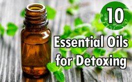 peppermint oil detox