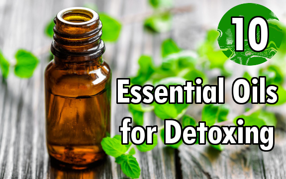 10 Essential Oils for Detoxing