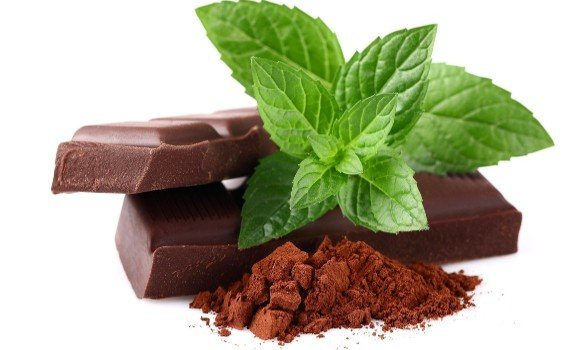 mint and chocolate