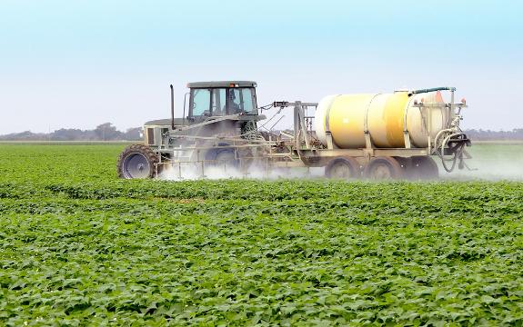 pesticide exposure - machine