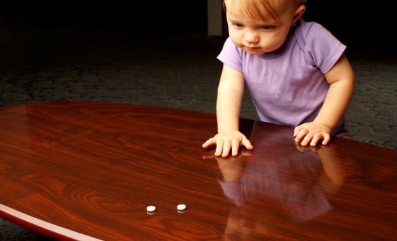 child and pills