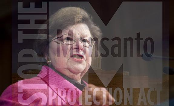 senator Mikulski monsanto protection act