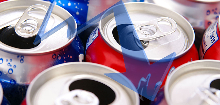 soda sales drop