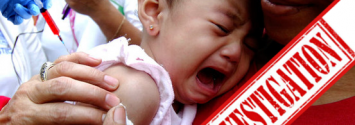 vaccine India investigation