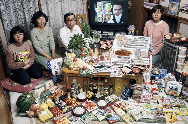 Amazing Photos Show What the World Really Eats whatjapaneat